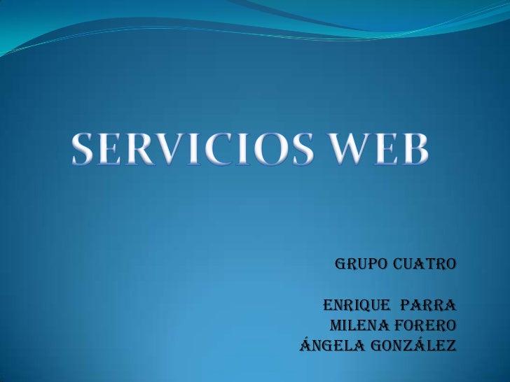 Diapositivas servicios web