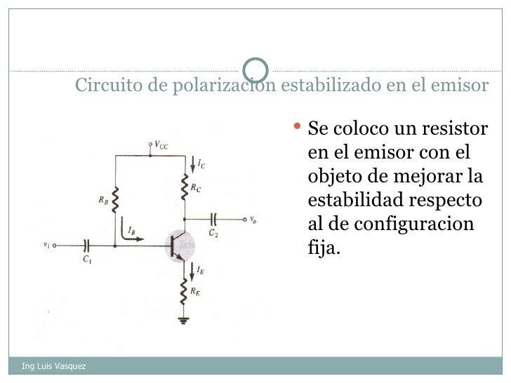 Circuito Cc : Circuitos de polarizacion cc