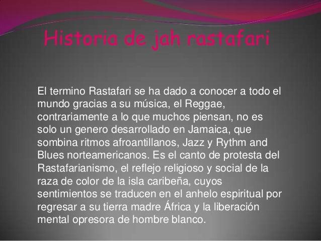 Diapositivas tecnologia rastafarianismo