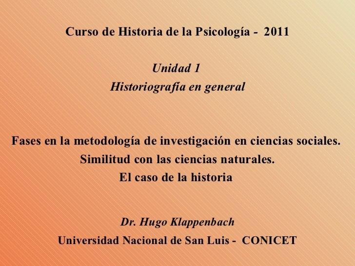 Diapositivas unidad 01 fases en la investigacion historica
