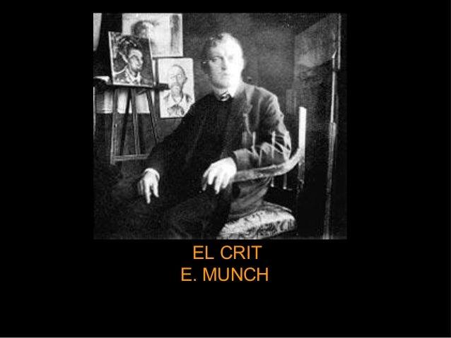 Diapositives expressionisme. El crit.  E. Munch