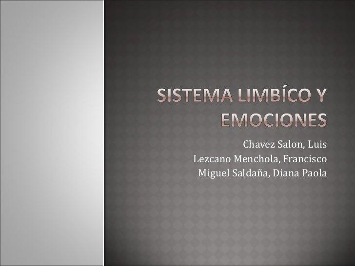 INHUCO: Emociones y Sistema Lmibico