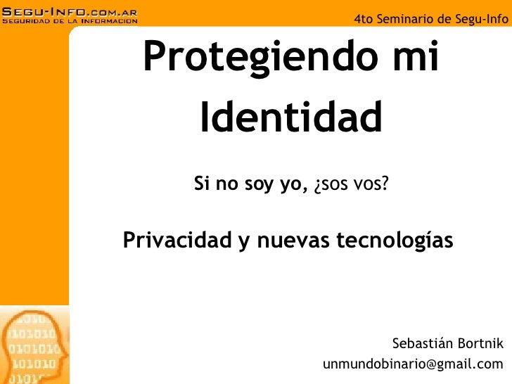 Privacidad y nuevas tecnologías