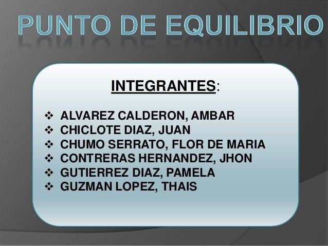 INTEGRANTES:   ALVAREZ CALDERON, AMBAR   CHICLOTE DIAZ, JUAN   CHUMO SERRATO, FLOR DE MARIA   CONTRERAS HERNANDEZ, JHO...