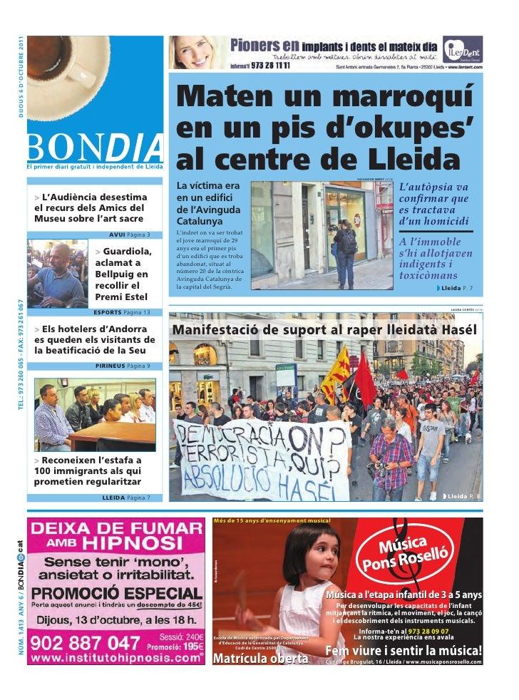 Bondia Lleida 06102011