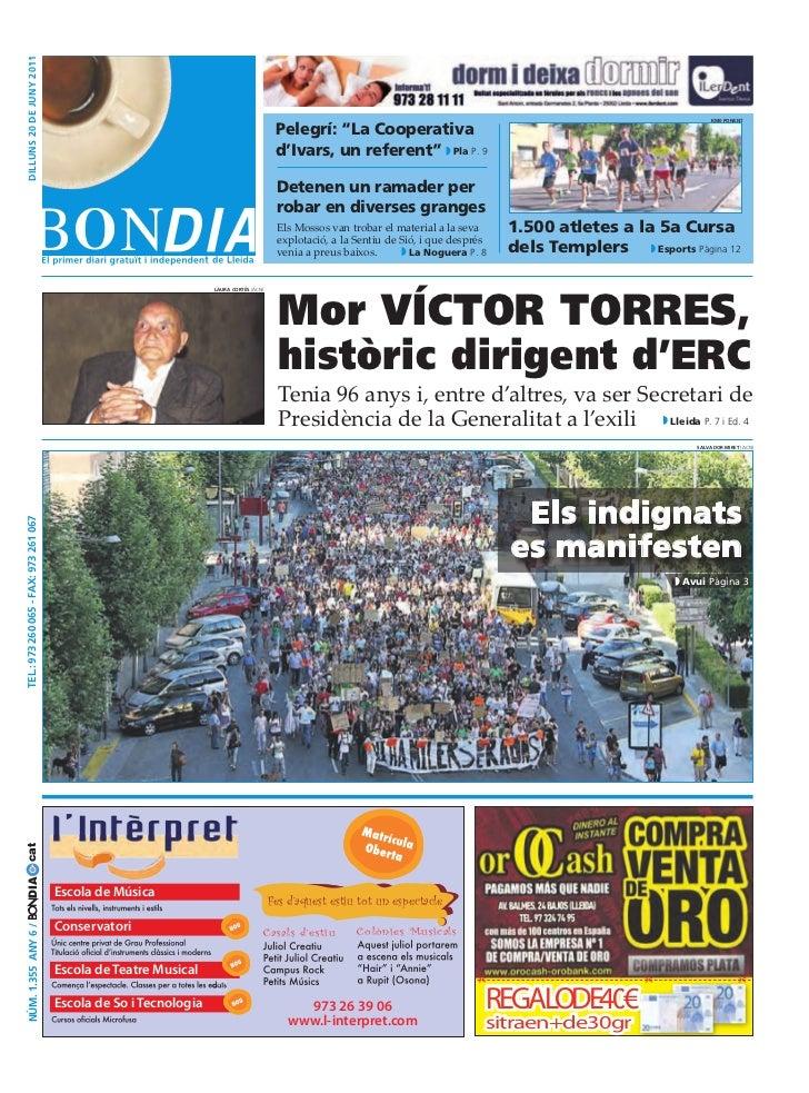 Bondia Lleida 20062011