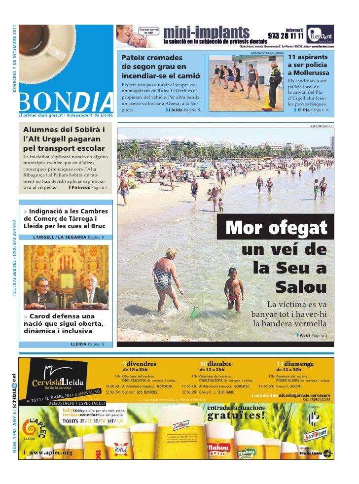 Bondia Lleida 07092011