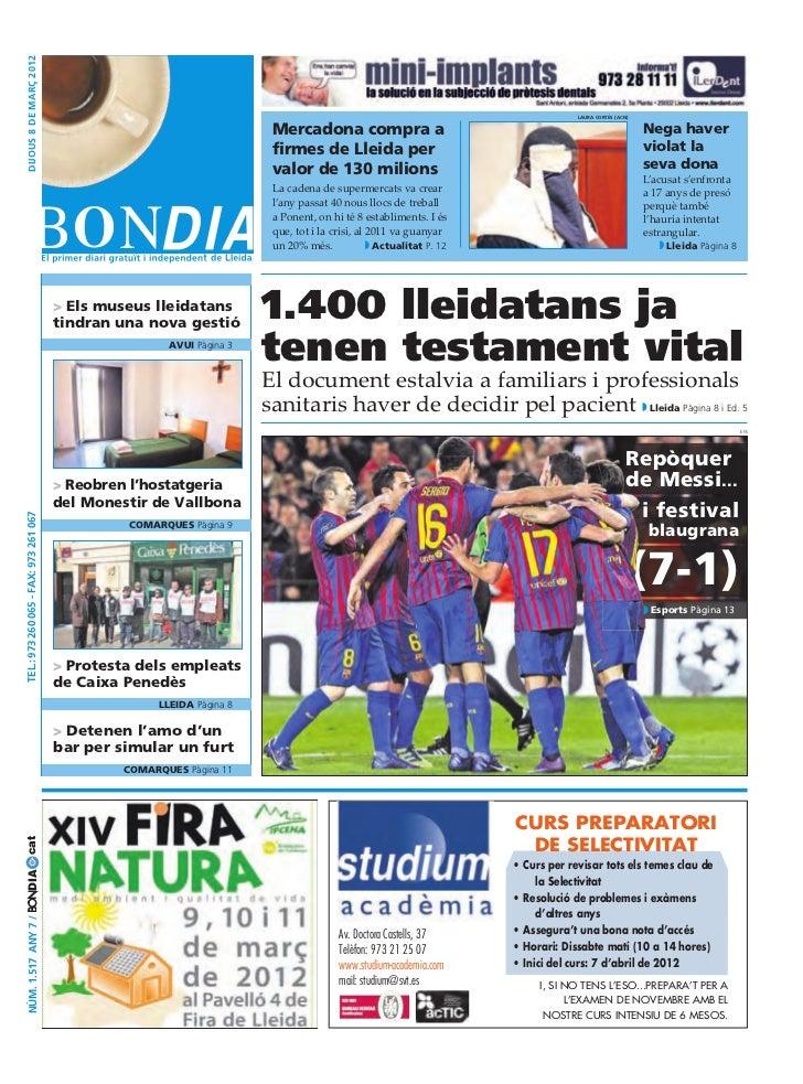 Bondia Lleida 08032012