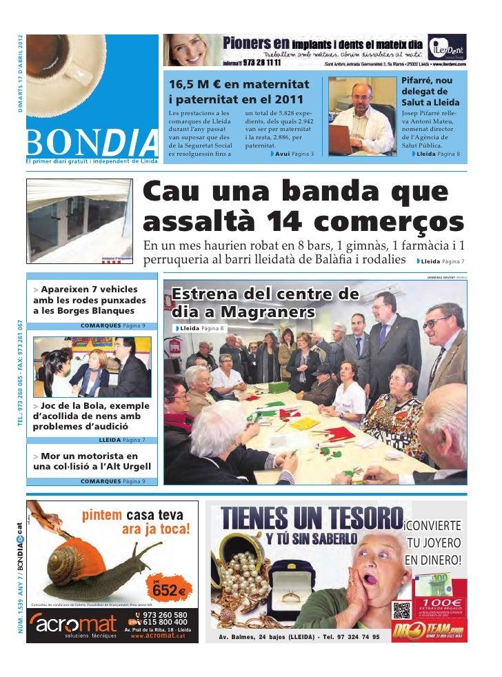 Bondia Lleida 17042012