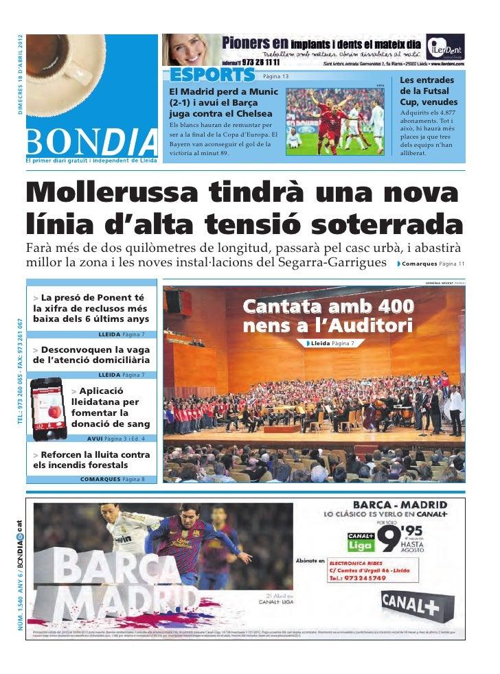 Bondia Lleida 18042012