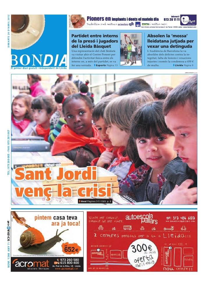 Bondia Lleida 24042012