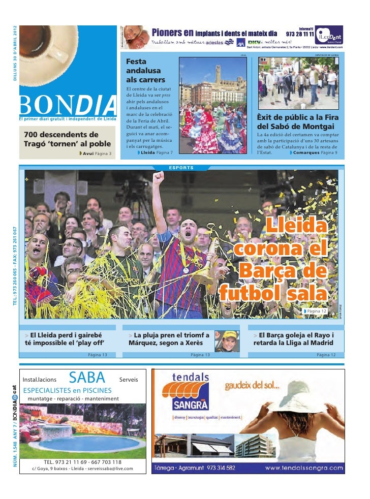 Bondia Lleida 30042012