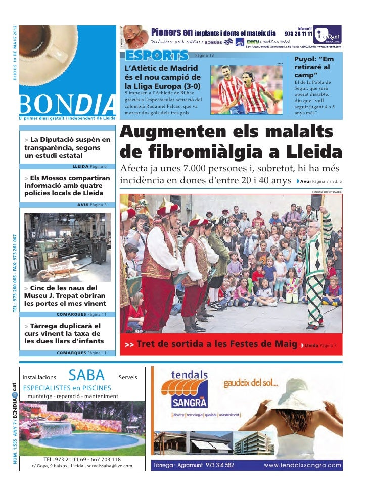 Bondia Lleida 10052012