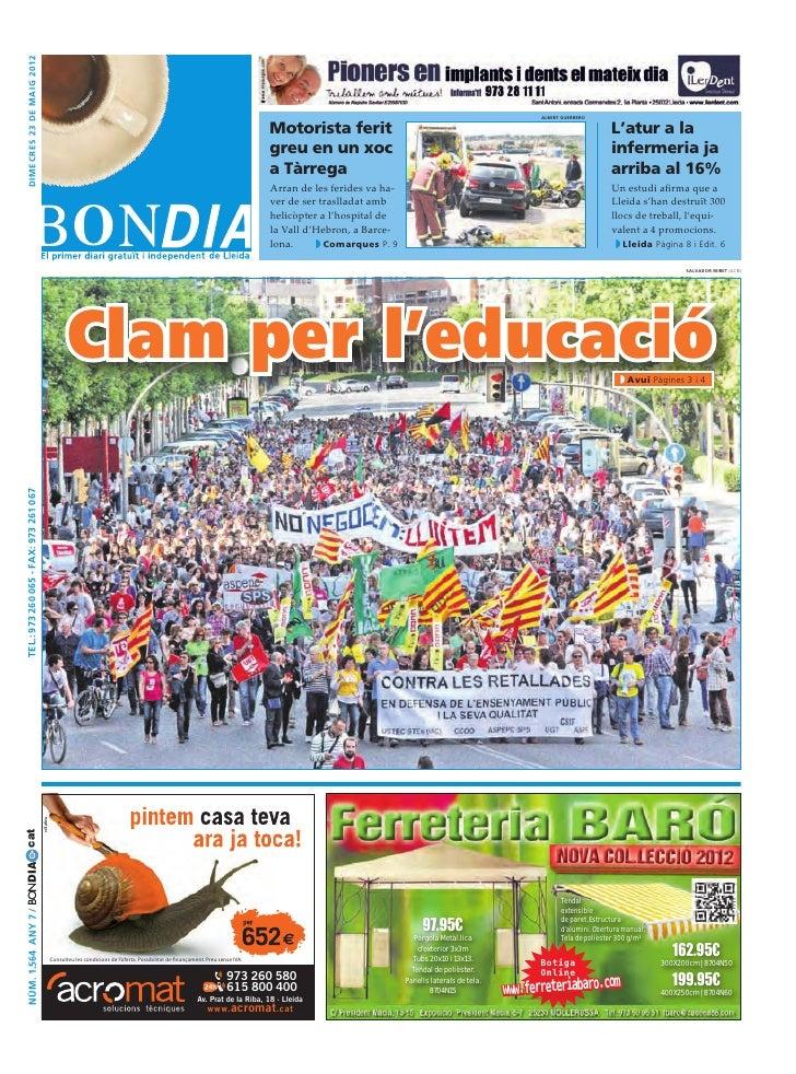 Bondia Lleida 23052012