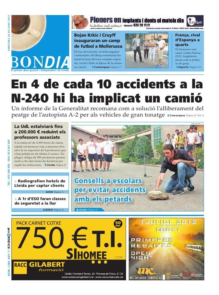 Bondia Lleida 20062012