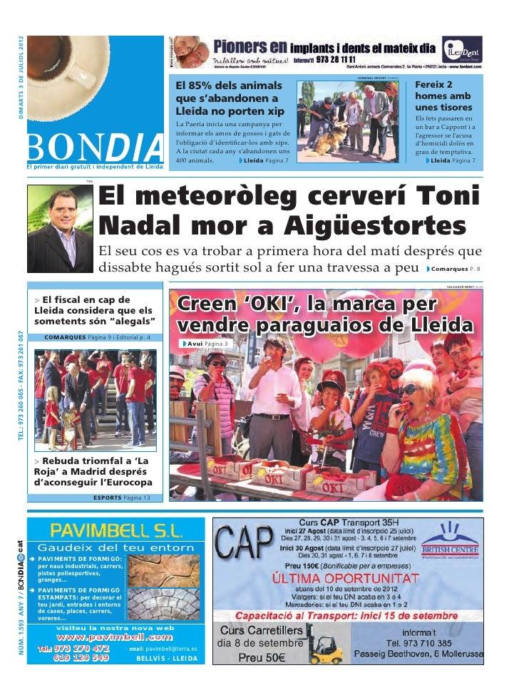 Bondia Lleida 03072012