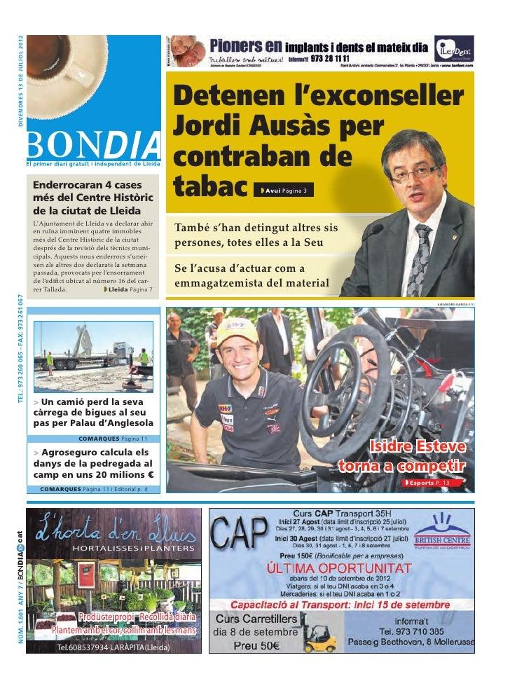 Bondia Lleida 13072012