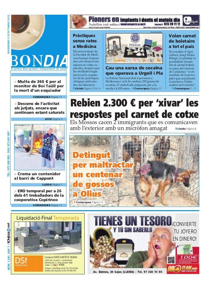 Bondia Lleida 05102011