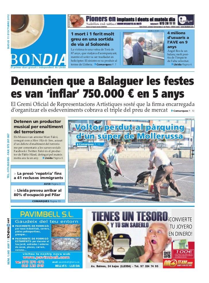 Bondia Lleida 11102012