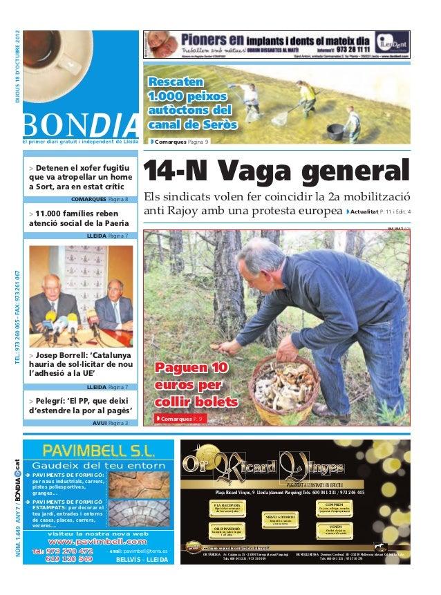 Bondia Lleida 18102012