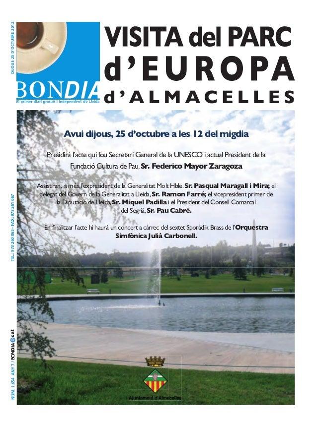 Bondia Lleida 25102012