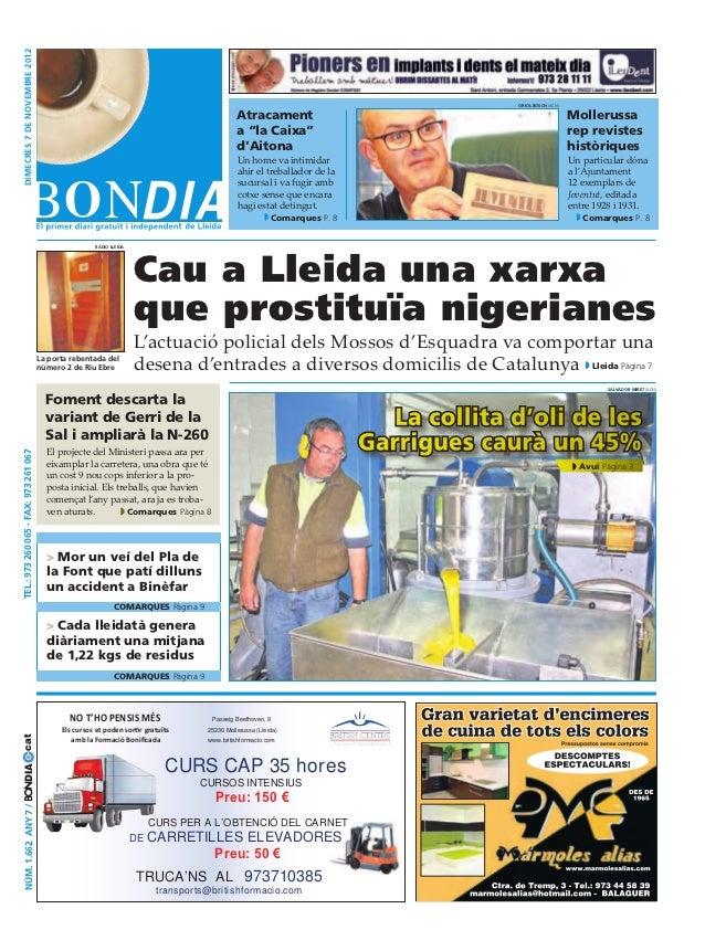 Bondia Lleida 07112012