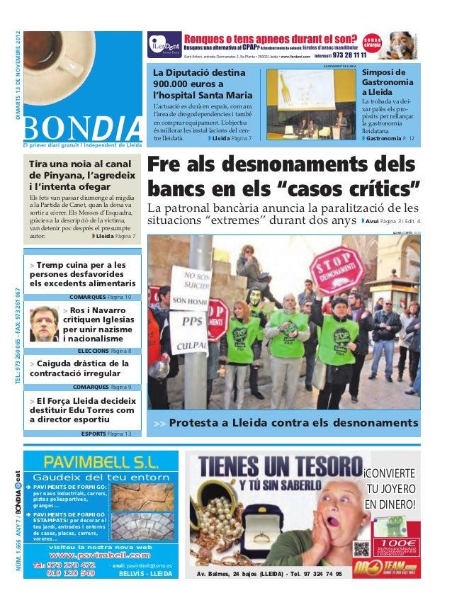 Bondia Lleida 13112012