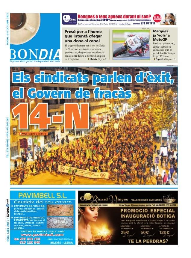 Bondia Lleida 15112012