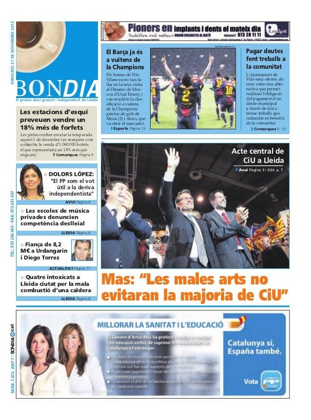 Bondia Lleida 21112012