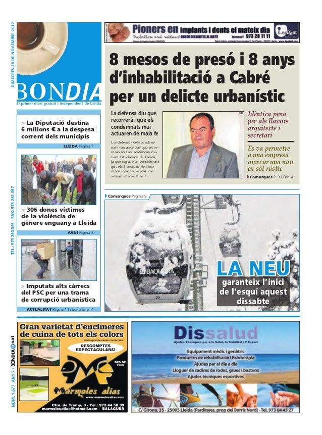 Bondia Lleida 28112012