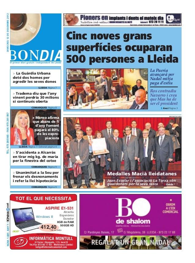 Bondia Lleida 12122012