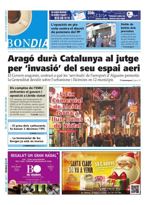 Bondia Lleida 14122012