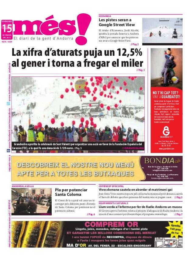 Diari del 15 de febrer de 2013