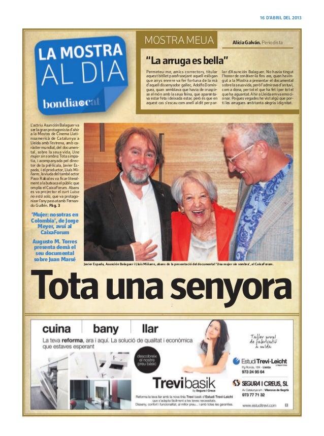Bondia.cat 16/04/2013