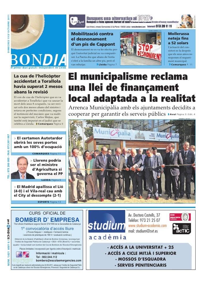 Bondia Lleida 19102011