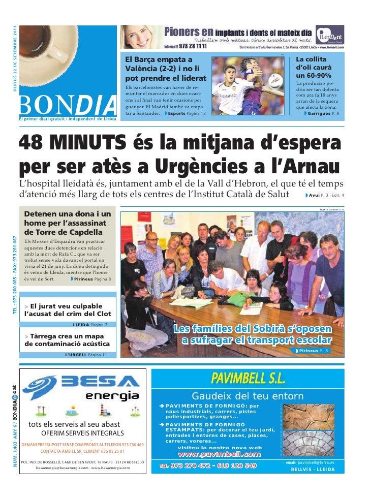 BonDia Lleida 22092011