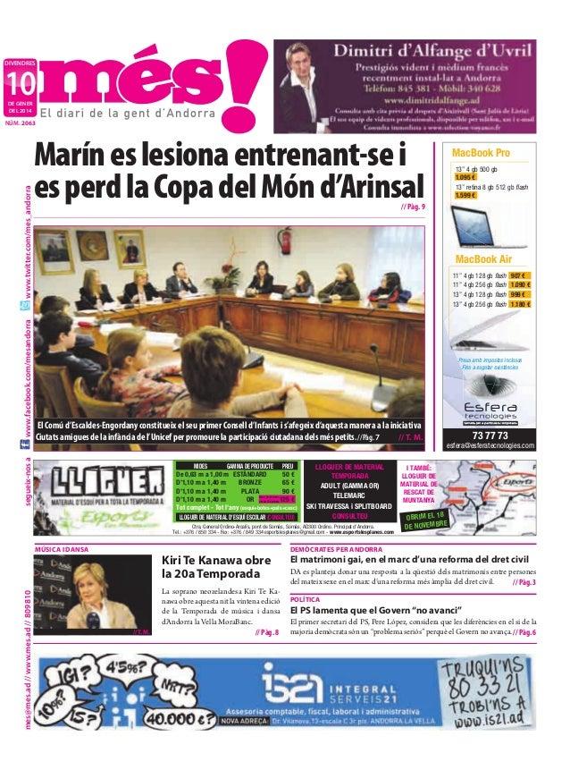 """divendres  10 de gener deL 2014  Marín es lesiona entrenant-se i es perd la Copa del Món d'Arinsal  13"""" 4 gb 500 gb 1.095 ..."""