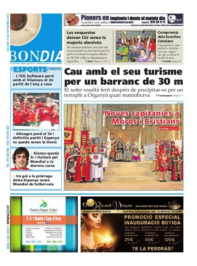 Bondia Lleida 19112012