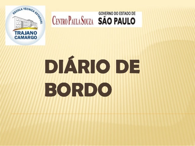 DIÁRIO DEDIÁRIO DEDIÁRIO DEDIÁRIO DEBORDOBORDOBORDOBORDO