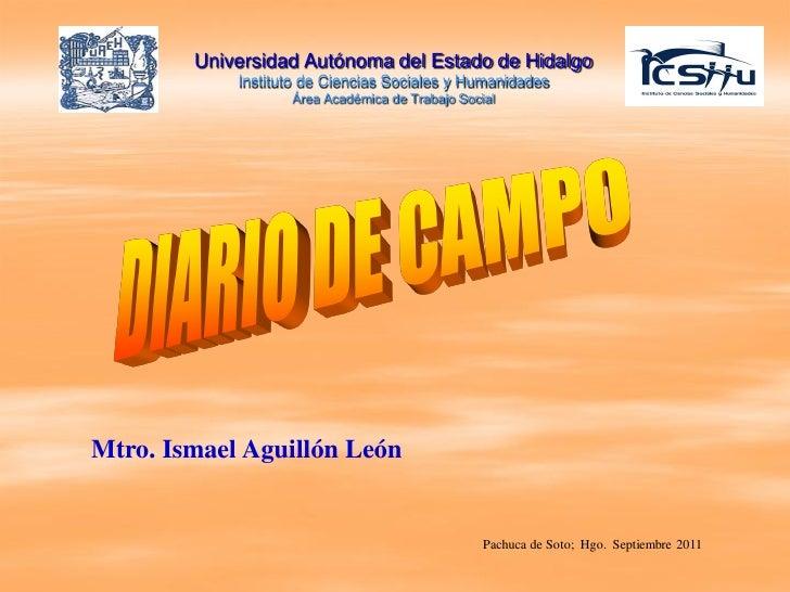 Universidad Autónoma del Estado de Hidalgo            Instituto de Ciencias Sociales y Humanidades                   Área ...