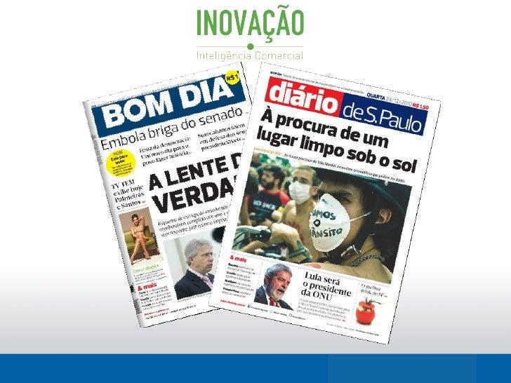 APRESENTAÇÃOO Diário de S.Paulo e a rede de jornais BOM DIA fazem parte do Grupo TRAFFIC,empresa líder no segmento de mark...