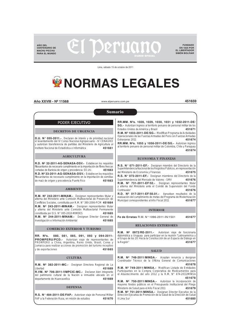 Diario peruano nl20111015