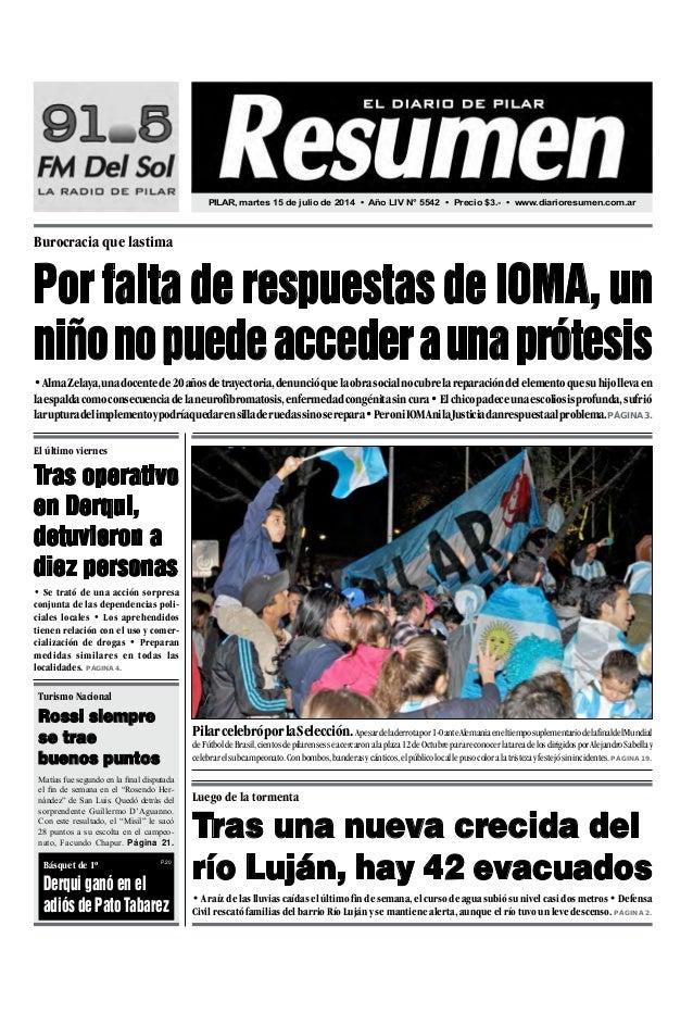 •AlmaZelaya,unadocentede20añosdetrayectoria,denuncióquelaobrasocialnocubrelareparacióndelelementoquesuhijollevaen laespald...
