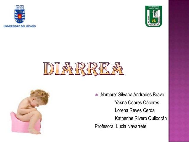  Nombre: Silvana Andrades BravoYasna Ocares CáceresLorena Reyes CerdaKatherine Rivero QuilodránProfesora: Lucia Navarrete