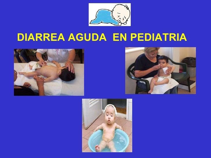 Diarrea aguda en pediatria(ateneo)