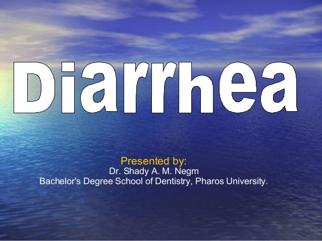 Presented by:                Dr. Shady A. M. NegmBachelors Degree School of Dentistry, Pharos University.