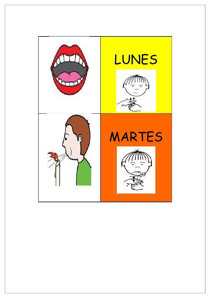 LUNES     MARTES