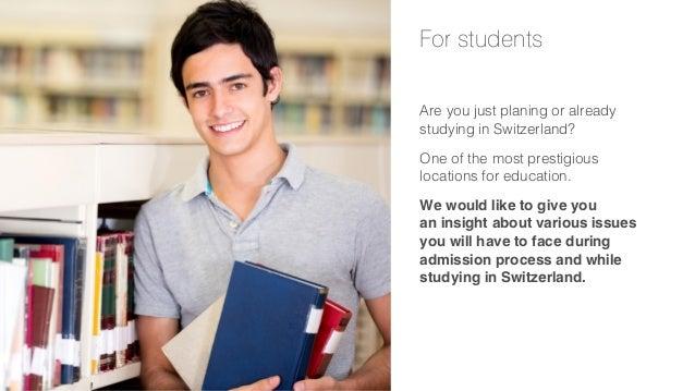 Presentation for students in Switzerland