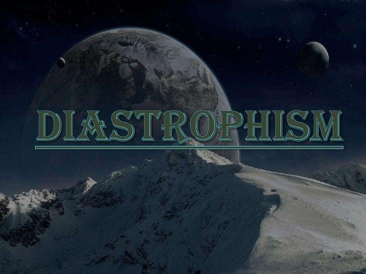 Diastrophism ko