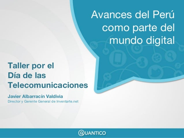 Presentación por el #DiaTelecom organizado por Telefonica
